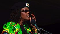 Grace Mugabe in S Africa court no-show