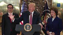 ТВ новости: Трампу опять досталось за нацистов