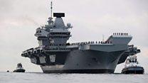 """""""Куин Элизабет"""": новый авианосец Британии в цифрах"""