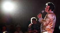 Fans honour Elvis 40 years after death