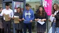 'Over the moon' at A-level results