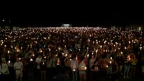 Candlelit vigil held in Charlottesville