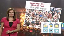 BBC Green Man festival weather special