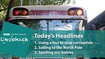 'Corruptour': ônibus faz passeio por 'rota dos escândalos' no México