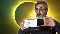 Cómo fabricar un simple artilugio para ver un eclipse total de sol