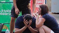 Нападение в Барселоне: видео с места события