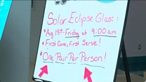 Americans rush to buy protective eclipse glasses