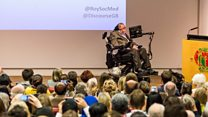 I wouldn't be here without NHS - Hawking