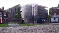 Multi-storey car park demolished