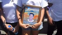 Philippines mourners decry drug violence