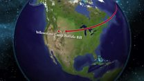 UK scouts arrive in America to watch eclipse