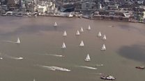 Round-the-world clipper race starts in Liverpool