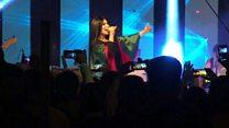 Afghan pop star defiant despite threats