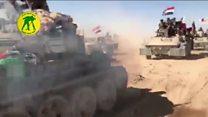 فرار هزاران عراقی، همزمان با آغاز عملیات ارتش در تلعفر