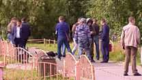 """Очевидцы о резне в Сургуте: """"Парень ходил, смотрел странно, а потом огонь пошел."""""""