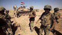 پیشروی ارتش عراق به سمت تلعفر