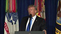 Trump flips on Afghanistan