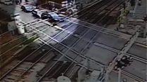 'Foolish' L-driver's level crossing crash