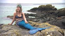 The mermaid who left the big city life behind