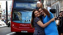 พาชมรถเมล์ในกรุงลอนดอน