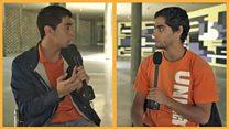"""""""Reconciliación es lo que hace falta en Venezuela"""": un estudiante chavista y otro de oposición debaten sobre el estado del país"""