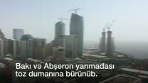 Dumanın Türkmənistan ərazisindən gəldiyi bildirilir