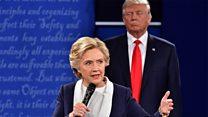 Clinton: 'My skin crawled' in Trump debate
