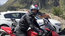 Rider left in coma: 'Bikes are bad'