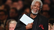Aktor Morgan Freeman dapat penghargaan pencapaian seumur hidup