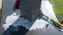 Пам'ятник з картою Росії викликав суперечки