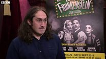 Ross Noble's 'got the hump'