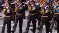 Военный парад маршировал центром Киева