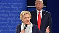 """Отойди, отморозок, оставь меня в покое"": Хиллари Клинтон о дебатах с Трампом"