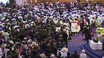 Thousands celebrate life of bishop