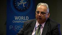 گفتگوی بی بی سی فارسی با رییس اتحادیه جهانی کشتی
