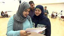 Girl who fled Iraq gets nine GCSEs