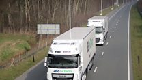 Self-driving lorries to be tested in UK