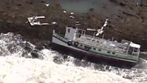 Brazil ferry sinks killing at least 18 people