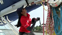 The Indian women sailing round the world