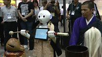 Conheça o robô que conduz funerais