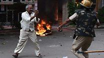 Violence strikes after India rape verdict