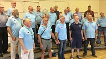 Barbershop choir sings Toy Story tune