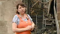 """""""Здесь был мой дом"""": рассказ женщины, которая пережила пожар в Ростове"""