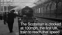 BBC Rewind: The Flying Scotsman through the years