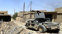 Iraqi forces push into IS-held Tal Afar