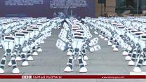 Click: рекорд жаңырткан роботтор