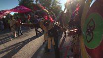 Leeds' West Indian Carnival: Halima France Mir