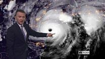 Hurricane Harvey forecast