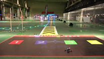 Drone racing in China