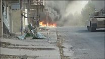 Iraqi tanks blast IS positions in Tal Afar